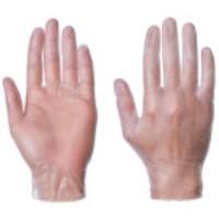 Clear Powdered Vinyl Glove