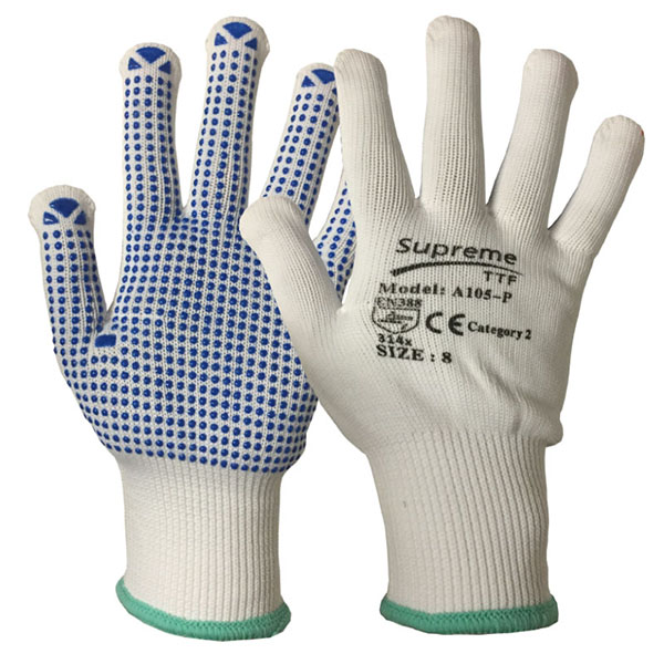 PVC Polka Dot Gloves