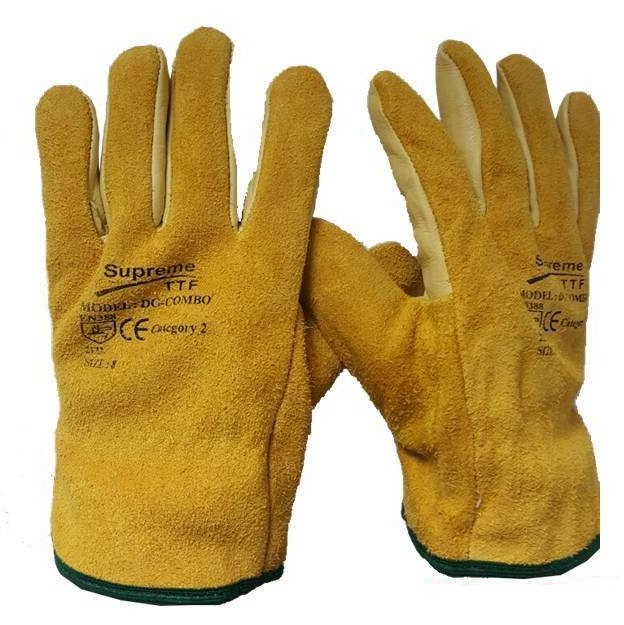 Leather Driver Gloves DG Combo