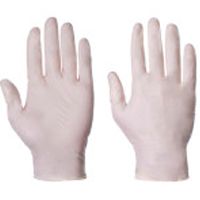 LATEX GLOVES (POWDERED)