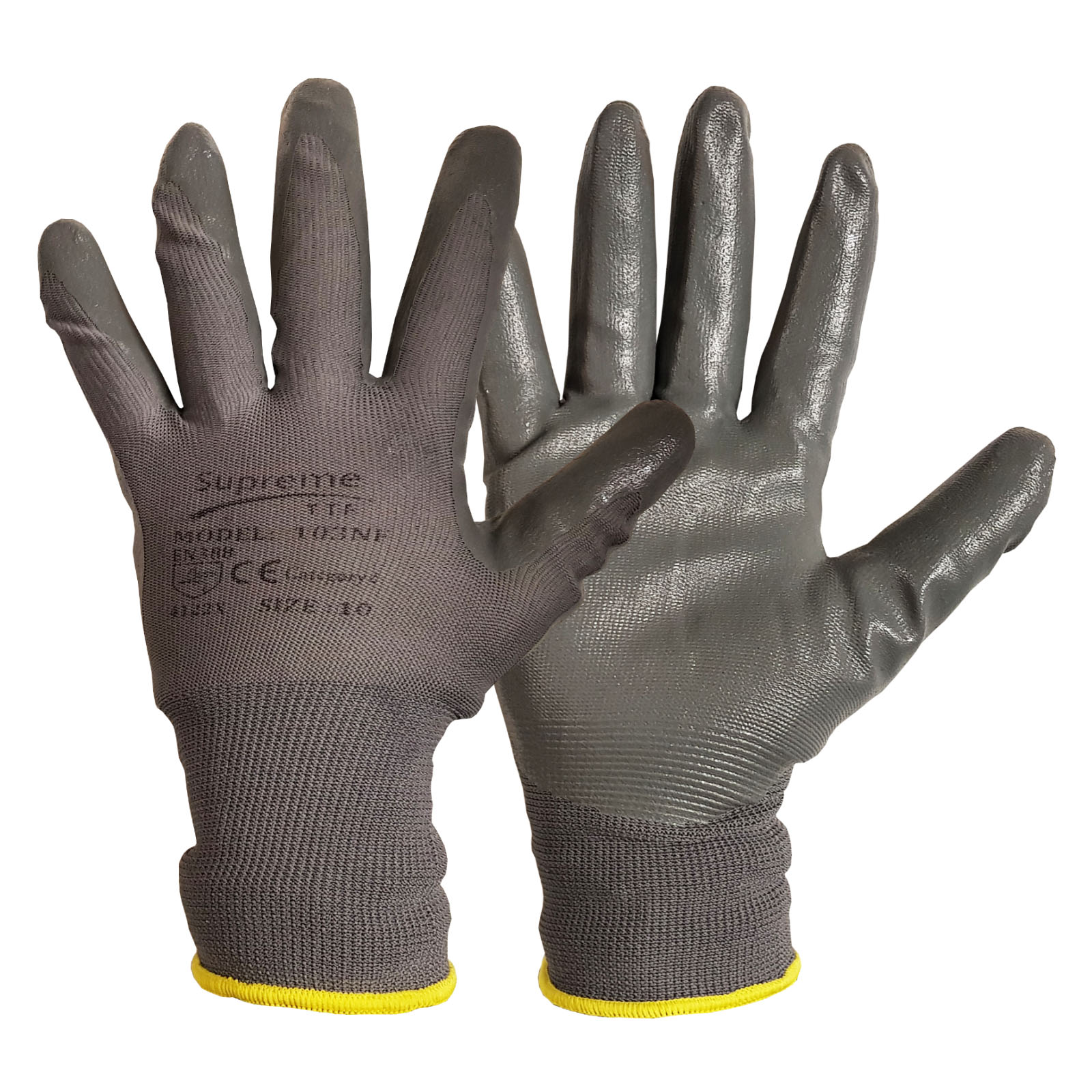 Nitrile Foam Coated Glove 103NF