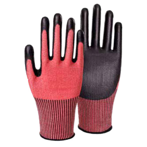 13G Cut Resistant PU Coated Gloves HP501F