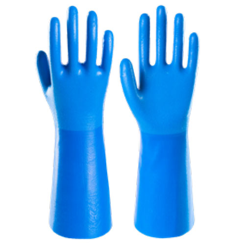 Chemical Gloves / Nitrile Rough Finish CN105