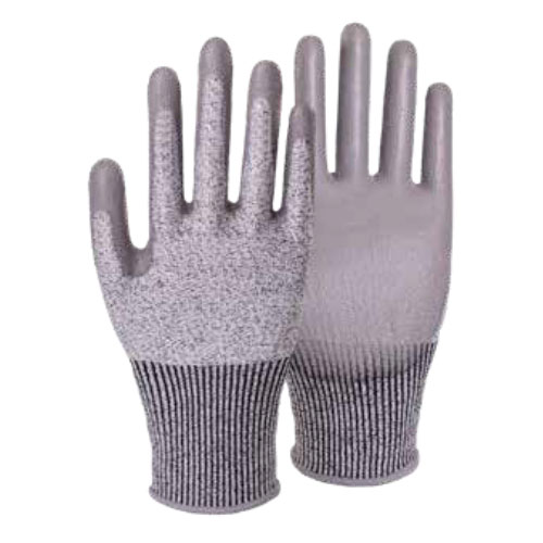 13G Cut Resistant PU Coated Gloves HP501C
